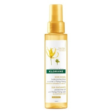 Klorane KLORANE Huile Protectrice a la cire d'Ylang Ylang 100 ml - Güneş Sonrası Saç Bakım Yağı Renksiz